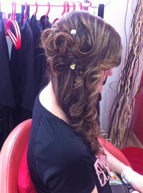 Peinado especial para bodas